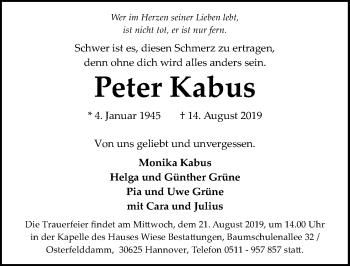 Peter Kabus