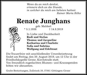 Renate Junghans