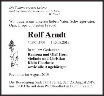 Rolf Arndt