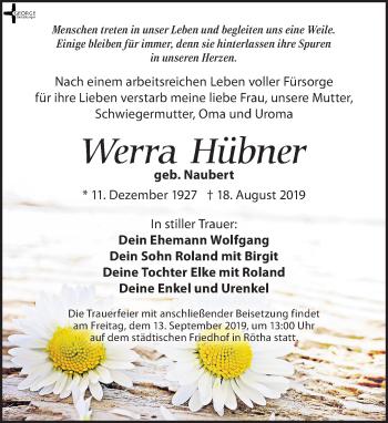 Werra Hübner