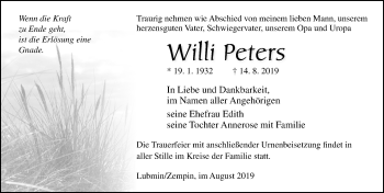 Willi Peters