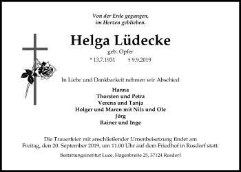 Helga Lüdecke