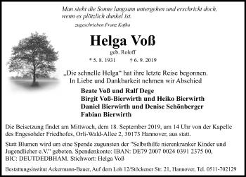 Helga Voß