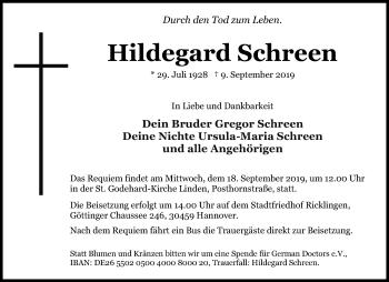 Hildegard Schreen