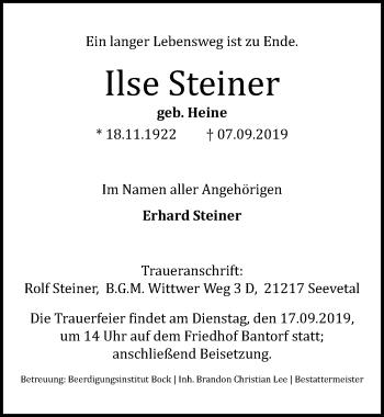 Ilse Steiner