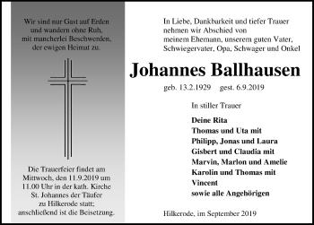 Johannes Ballhausen
