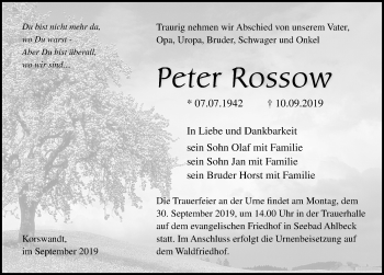 Peter Rossow