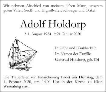 Adolf Holdorp