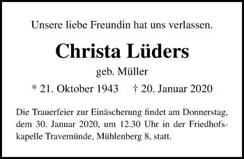 Christa Lüders