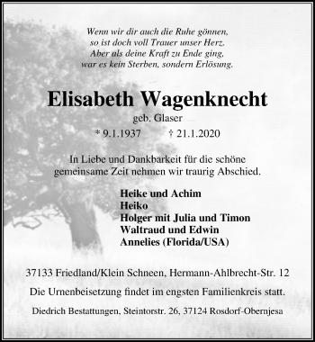 Elisabeth Wagenknecht