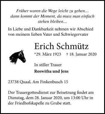 Erich Schmütz