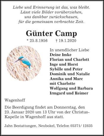 Günter Camp