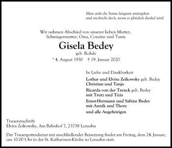 Gisela Bedey