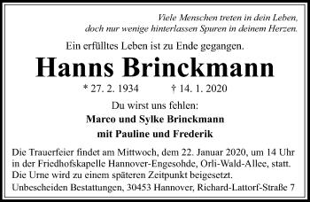 Hanns Brinckmann