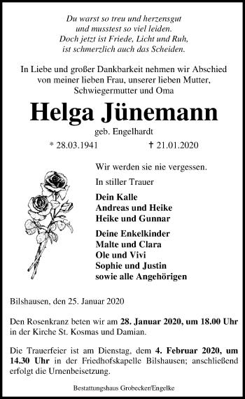 Helga Jünemann