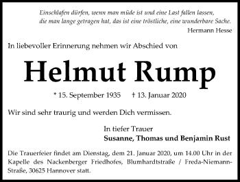 Helmut Rump