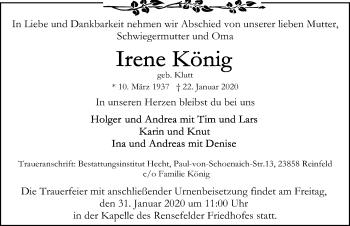 Irene König
