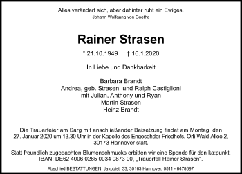 Rainer Strasen