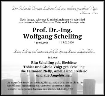 Wolfgang Schelling