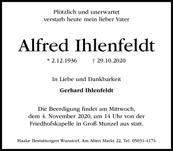 Alfred Ihlenfeldt