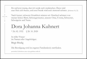 Dora Johanna Kuhnert