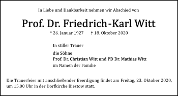 Friedrich-Karl Witt