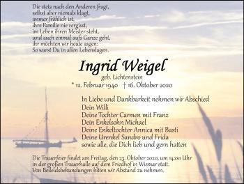 Ingrid Weigel