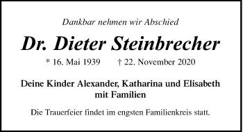 Dieter Steinbrecher