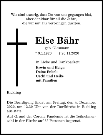 Else Bähr