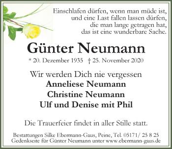 Günter Neumann