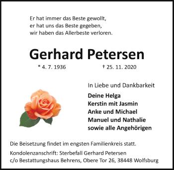 Gerhard Petersen