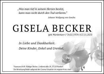 Gisela Beckere