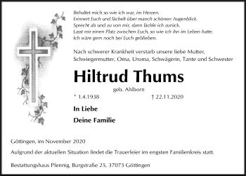 Hiltrud Thums