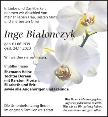 Inge Bialonczyk