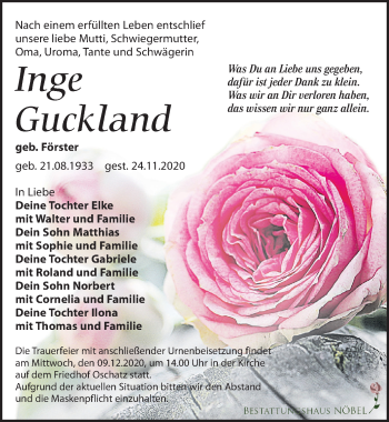 Inge Guckland