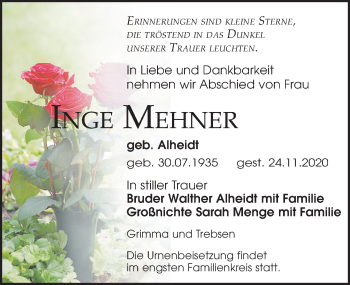 Inge Mehner