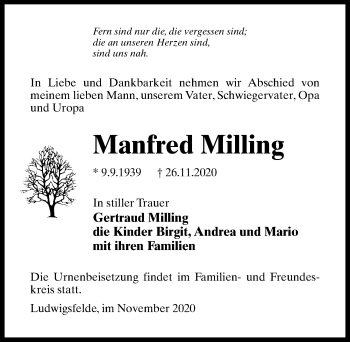 Manfred Milling