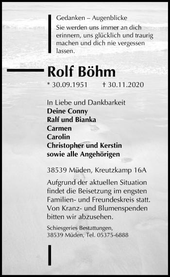 Rolf Böhm