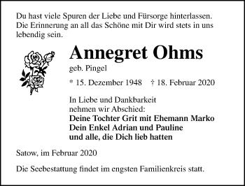 Annegret Ohms