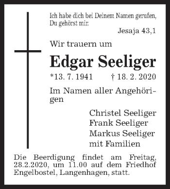 Edgar Seeliger