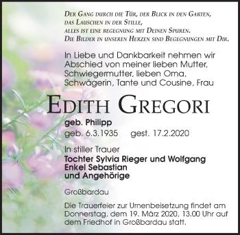 Edith Greogori