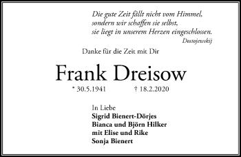 Frank Dreisow