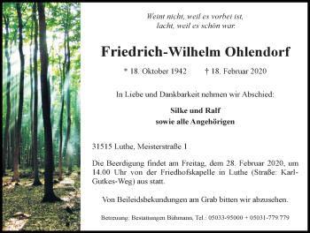 Friedrich-Wilhelm Ohlendorf