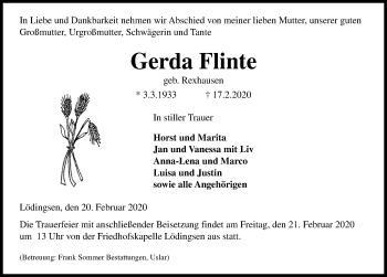 Gerda Flinte