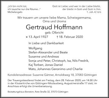 Gertraud Hoffmann