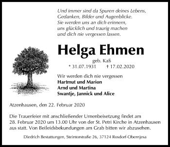 Helga Ehmen
