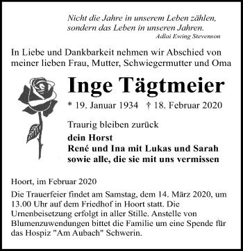 Inge Tägtmeier