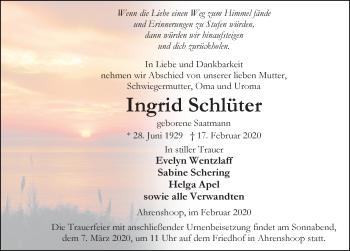 Ingrid Schlüter