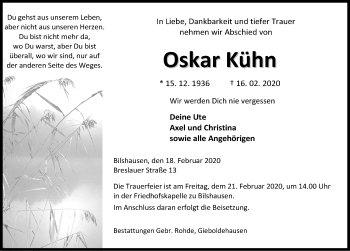 Oskar Kühn