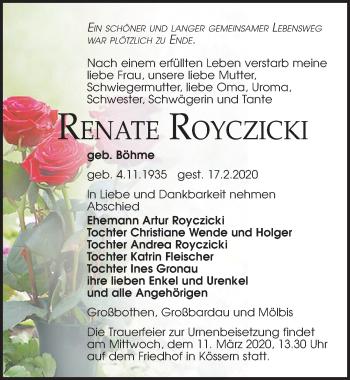 Renate Royczicki